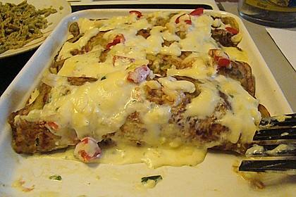 Bärlauch - Pfannkuchen mit Spargel - Schinkenfüllung 17