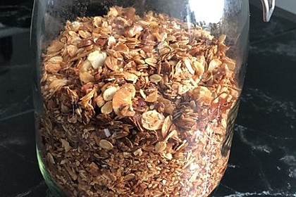Granola Müsli selbstgebacken