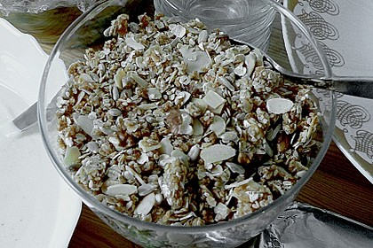 Granola Müsli selbstgebacken 22