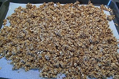 Granola Müsli selbstgebacken 21