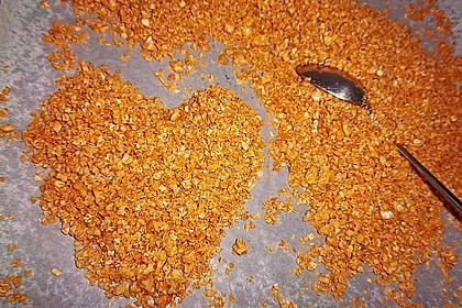 Granola Müsli selbstgebacken 13
