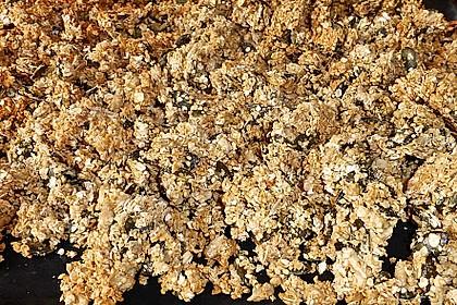 Granola Müsli selbstgebacken 17