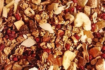 Granola Müsli selbstgebacken 8