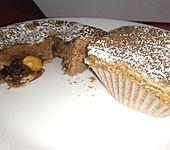 Überraschungs - Schoko - Muffins (Bild)