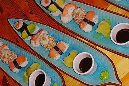 California Rolls inside - out 2