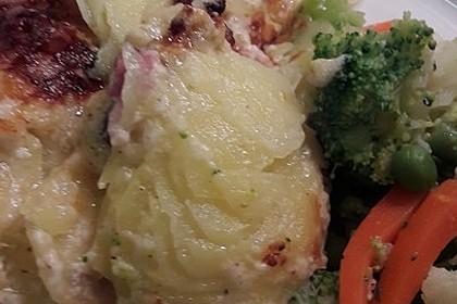 Feines Kartoffelgratin 48