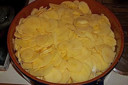 Feines Kartoffelgratin 50