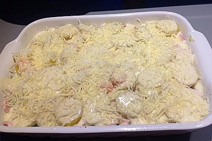 Feines Kartoffelgratin 42