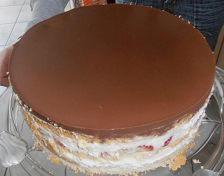 Bananen Sahne Schoko Torte Von Tabbi Chefkoch De