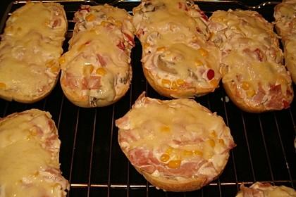 Schnelle Pizzabrötchen 7