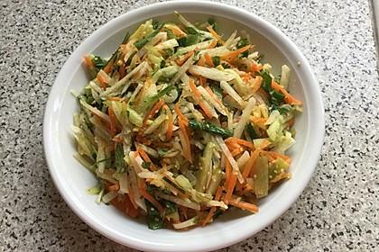 Asiatischer Rettich - Möhren - Salat (Bild)
