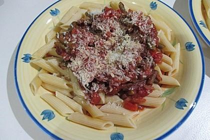 Sugo de Pomodori con i fagiolini
