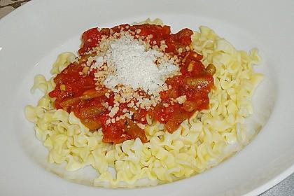 Sugo de Pomodori con i fagiolini 1