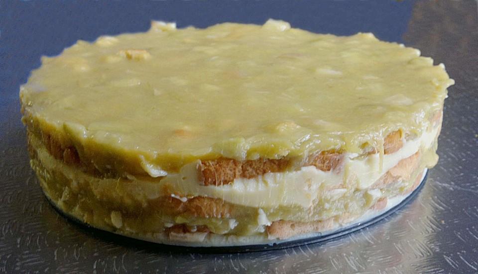 Rhabarber Pudding Kuchen Von Feuermohn Chefkoch De