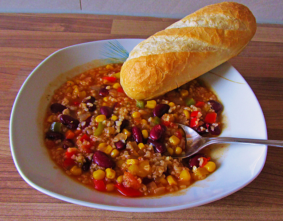 chefkoch chili sin carne