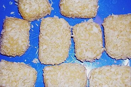 Indische Kokosschnitten
