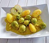 Rosenkohl in Currysauce (Bild)