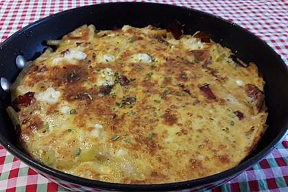 Vollkorn - Nudel - Omelette (Bild)