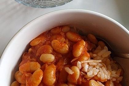 Türkische Bohnensuppe 1