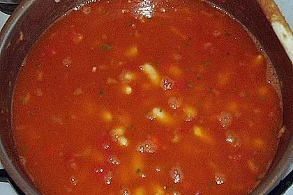 Türkische Bohnensuppe 3