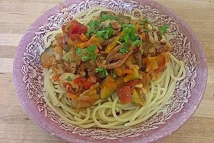 Spaghetti mit Meeresfrüchten 1