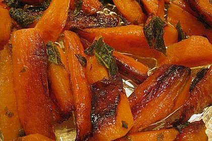 Gebratener Karottensalat