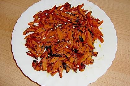 Gebratener Karottensalat 1