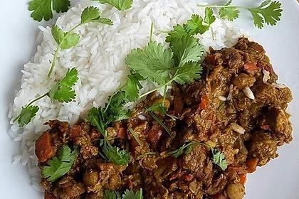 Indisches Hähnchencurry mit Kichererbsen 5