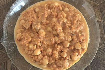 Indisches Hähnchencurry mit Kichererbsen 13