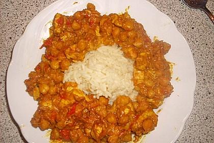 Indisches Hähnchencurry mit Kichererbsen 38
