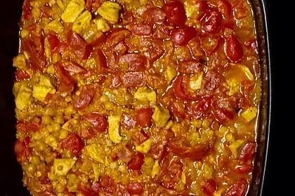 Indisches Hähnchencurry mit Kichererbsen 19