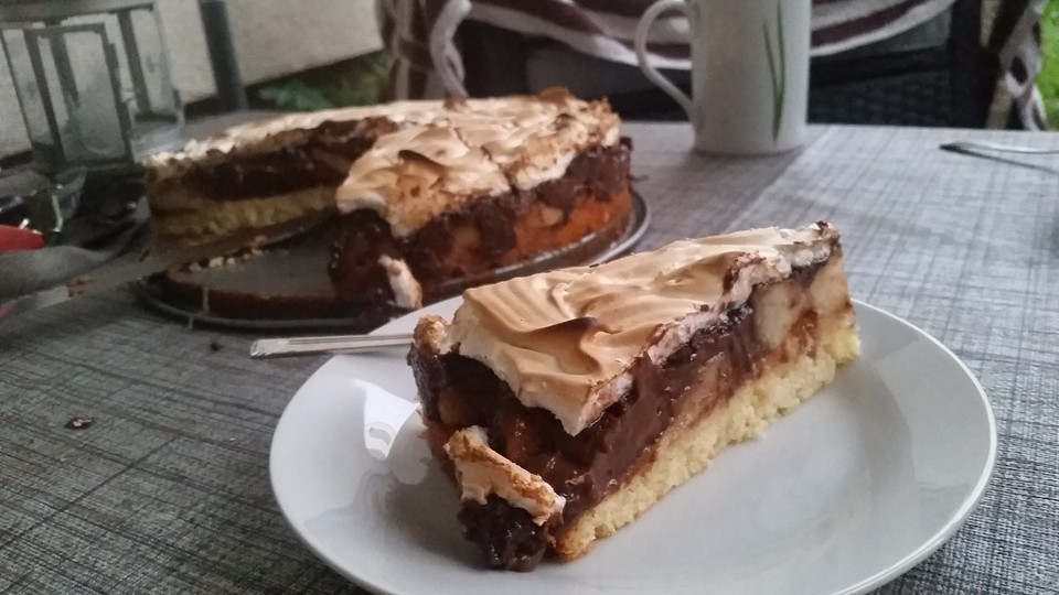 Blitz Birnen Baiser Torte Von Bloody Squirrel Chefkoch De