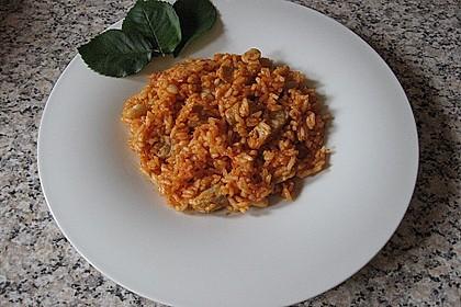 Kubanische Reispfanne 4