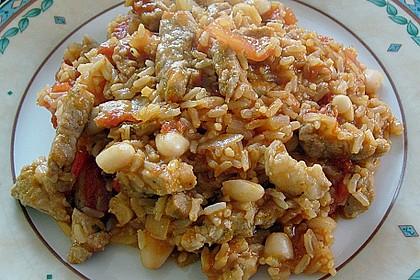 Kubanische Reispfanne 2