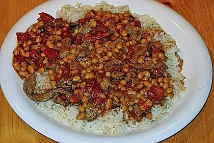 Kubanische Reispfanne 3