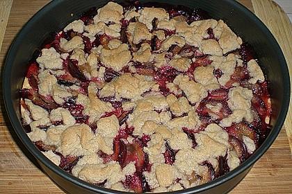 Hildes Zwetschgenkuchen mit Zimtstreuseln 176