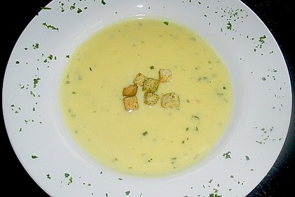 Spargelcremesuppe 2