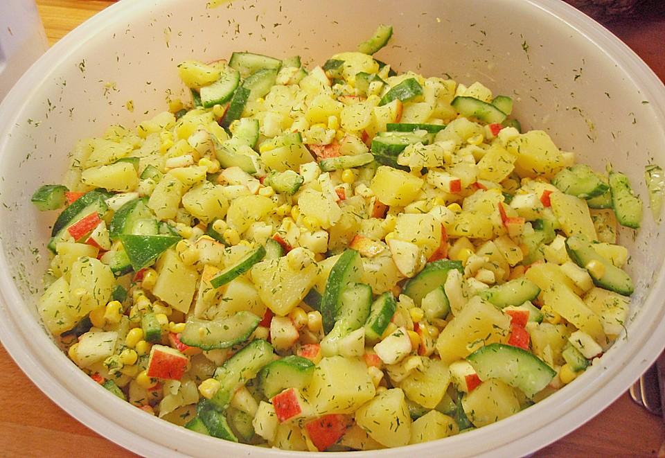 kartoffelsalat ohne mayo rezept
