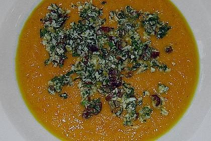 Orangen - Möhren - Suppe