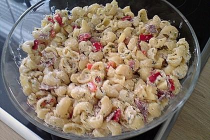Insalata di Pasta con Asiago e salame 1
