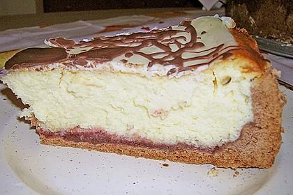 Käsetorte gebacken (Bild)