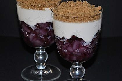 Birnen - Spekulatius - Dessert 3