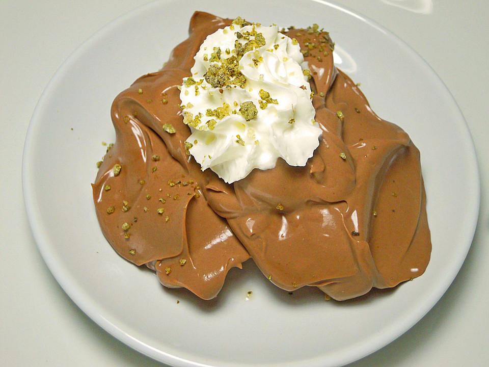 Schnelle Schokolade Mascarpone Crème