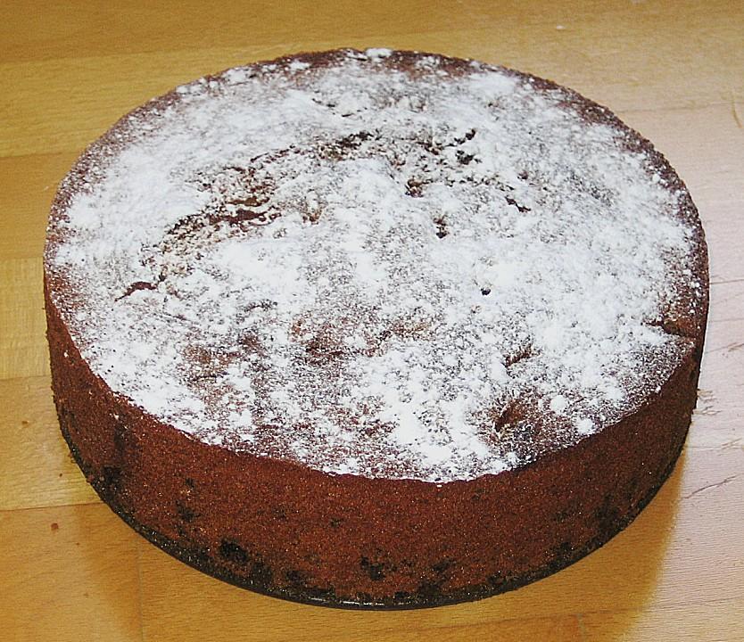 Rotweinkuchen Mit Kirschen Von Skmeyer Chefkoch De