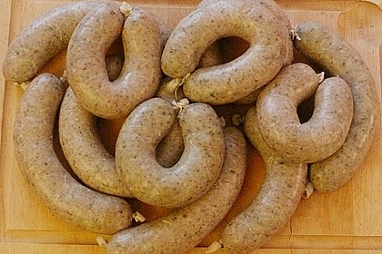Krommbierewurscht (Kartoffelwurst)