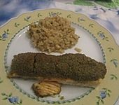 Lachs mit Pesto - Kruste (Bild)
