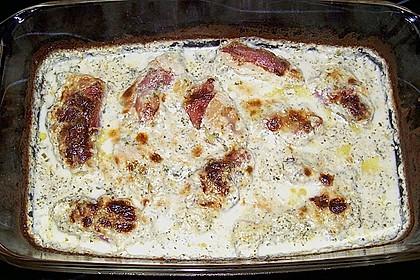 Hähnchenbrustfilets in Bresso - Sauce 25