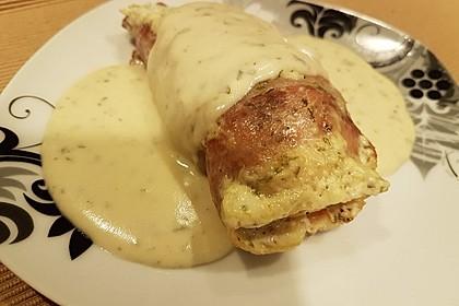 Hähnchenbrustfilets in Bresso - Sauce