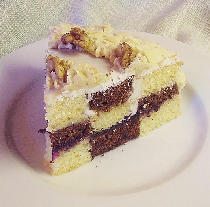 Schwarz Weiss Kuchen Von Mima53 Chefkoch