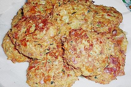 Kalorienarme Gemüseküchlein 43